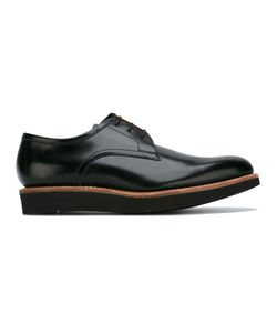 Grenson | Lace Up Derby Shoes Mens Size 6 Leather/Rubber