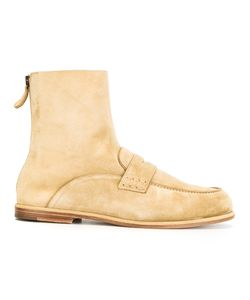 Loewe   Loafer Ankle Boots Mens Size 42 Leather/Suede