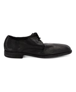 Guidi | Distressed Derby Shoes Womens Size 37 Calf Leather/Leather/Rubber