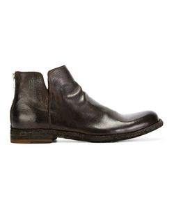 Officine Creative | Zip-Back Ankle Boots Mens Size 43 Leather