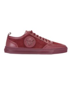 Versace | Medusa Sneakers Mens Size 43 Calf Suede/Leather/Rubber