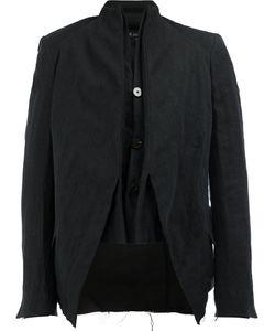 Cedric Jacquemyn   High Neck Laye Blazer Mens Size 46 Cotton/Linen/Flax/Ramie/Polyester