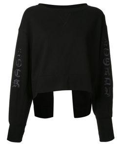 Mihara Yasuhiro   Miharayasuhiro Back Split Sweatshirt Womens Size 36 Cotton
