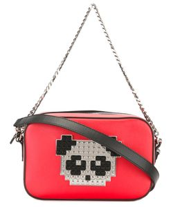 Les Petits Joueurs | Panda Shoulder Bag Womens Calf Leather/Lamb Skin/Brass