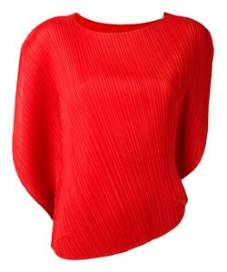 Pleats Please By Issey Miyake | Shift Pleated Blouse Womens Size 5