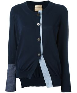 Erika Cavallini | Asymmetric Cardigan Womens Size Large Cotton