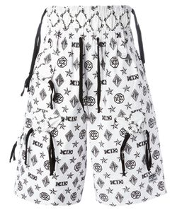 KTZ | Monogram Shorts Mens Size Small Cotton