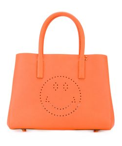Anya Hindmarch | Small Featherweight Ebury Smiley Tote Womens Leather