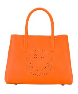Anya Hindmarch | Smiley Face Tote Womens Leather