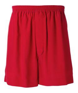 Rick Owens   Loose-Fit Shorts Mens Size 46 Silk/Acetate