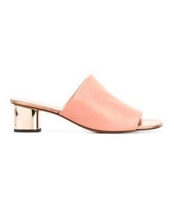 Robert Clergerie | Lato Mules Womens Size 37 Lamb Skin/Leather