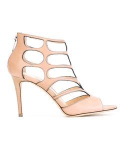 Jimmy Choo | Ren 85 Sandals Womens Size 38 Leather