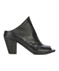 Officine Creative | Heeled Peep-Toe Mules Womens Size 36 Calf Leather/Leather