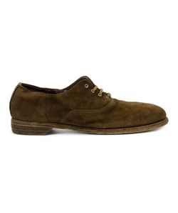 Guidi | Classic Oxfords Mens Size 42 Horse Leather/Leather/Rubber