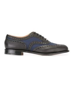 Church's | Burwood Brogues Mens Size 7.5 Leather/Cotton