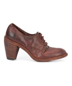 Guidi | Distressed Lace-Up Bootie Womens Size 38 Leather/Horse Leather