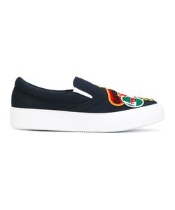 DSquared² | Logo Patch Sneakers Mens Size 45.5 Cotton/Rubber