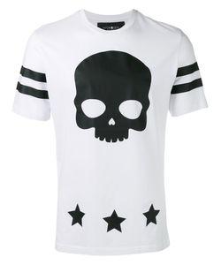 Hydrogen | Skull Print T-Shirt Mens Size Medium Cotton