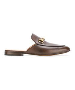 Gucci | Horsebit Slippers Mens Size 5.5 Leather/Metal Other