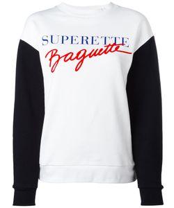 Être Cécile | Superette Baguette Sweatshirt Womens Size Small Cotton