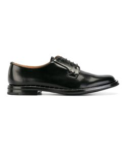 Church's | Classic Derbies Womens Size 37.5 Calf Leather/Leather/Rubber