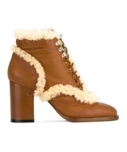 Laurence Dacade   Manushka Ankle Boots Womens Size 36 Sheep Skin/Shearling/Leather