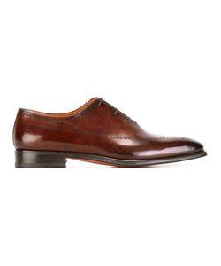 Santoni | Classic Brogues Mens Size 7.5 Leather
