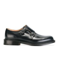 Church's | Classic Monk Shoes Mens Size 8 Calf Leather/Leather