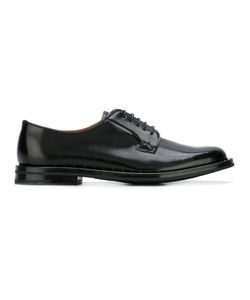 Church's | Varnish Derbies Womens Size 38 Calf Leather/Leather/Rubber