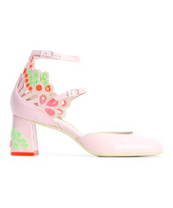 Sophia Webster | Embellished Cut-Out Pumps Womens Size 38 Leather