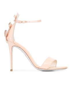 Rene Caovilla | René Caovilla Ankle Strap Stiletto Sandals Womens Size 38 Patent