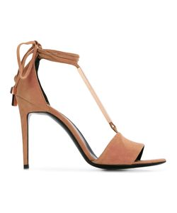 Pierre Hardy | Blondie Sandals Womens Size 36 Leather/Suede/Metal Other