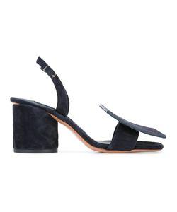 Jacquemus   Les Rond Carrè Sandals Womens Size 37 Leather/Suede