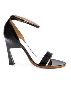 Maison Margiela | Geometric Heel Sandals Womens Size 38 Leather