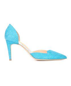 Rupert Sanderson   Textu Pump Shoes Womens Size 37.5 Leather