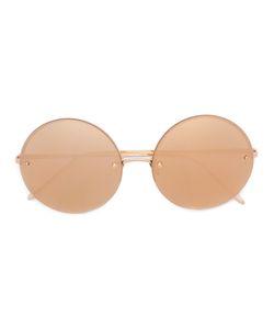 Linda Farrow | Round Frame Sunglasses Womens Acetate/Metal