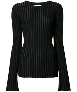 Le Ciel Bleu | Pleated Jumper Womens Size 36 Polyester/Rayon
