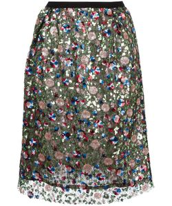 Odeeh | Sequined Skirt Womens Size 38 Cotton/Polyester