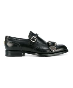 Gucci | Queercore Brogue Monk Shoes Mens Size 9 Leather