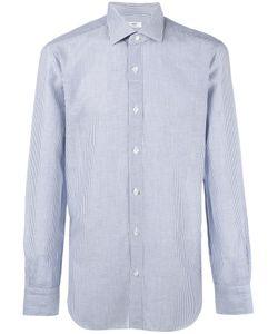 Barba | Striped Shirt Mens Size 44 Cotton/Linen/Flax