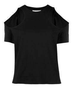 Courrèges | Cold Shoulder Blouse Womens Size 2 Cotton