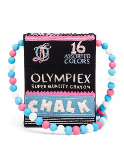 Olympia Le-Tan   Chalk Box Shoulder Bag Womens Cotton/Wool