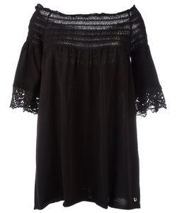 Twin-Set | Off-Shoulder Blouse Womens Size 44 Cotton