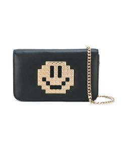 Les Petits Joueurs | Lego Smiley-Face Cross Body Bag Womens Leather