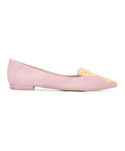 Sophia Webster | Bb Winged Ballerinas Womens Size 37.5 Suede/Leather