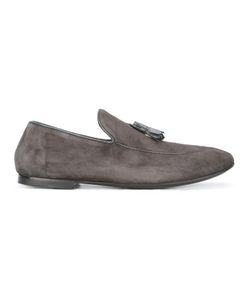 Rocco P. | Tassel Loafers Mens Size 41.5 Suede/Leather