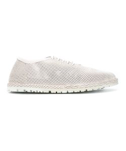 Marsèll | Perforated Lace-Up Shoes Womens Size 38.5 Leather/Rubber