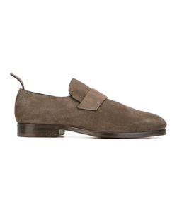 Measponte | Minimal Loafers Mens Size 42.5 Suede/Leather/Rubber