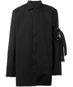 D.Gnak   Sleeve Strap Shirt Mens Size 50 Cotton
