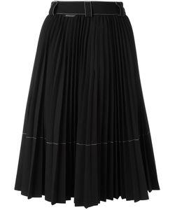 Moncler   Pleated Skirt Womens Size 42 Polyester/Viscose/Spandex/Elastane